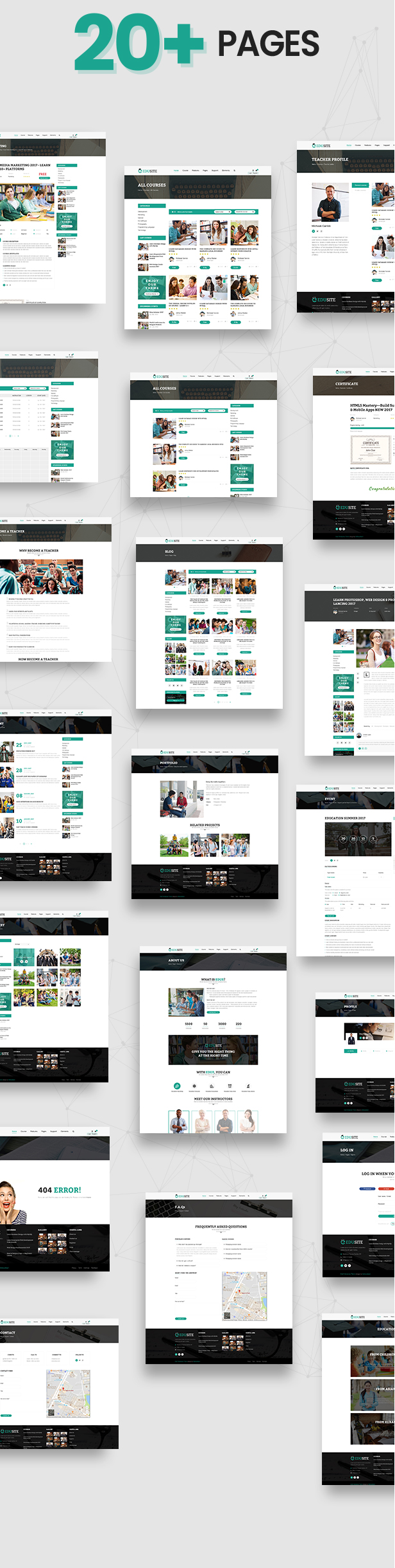 Udetor - LMS Education WordPress Theme - 10