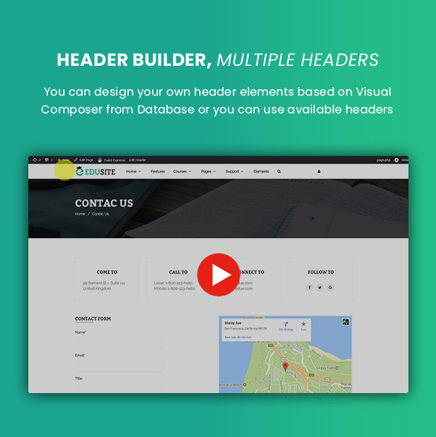 Udetor - LMS Education WordPress Theme - 16