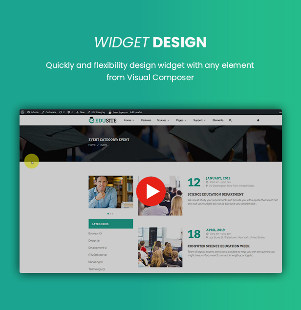 Udetor - LMS Education WordPress Theme - 27