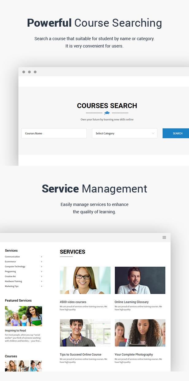 Education - LMS Responsive WordPress Theme