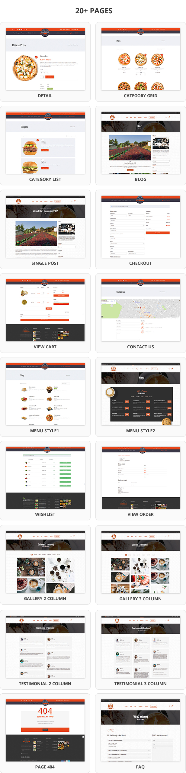Foody - WordPress Restaurant Reservation & Food Store Website Theme - 9