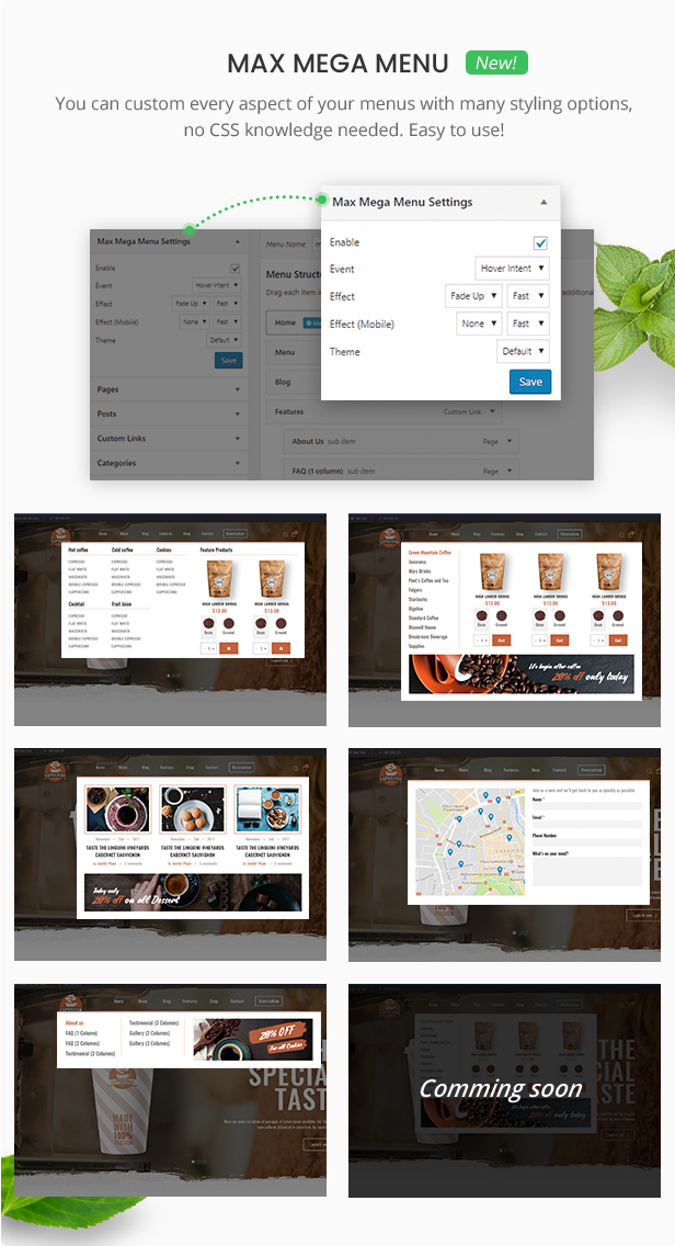 Foody - WordPress Restaurant Reservation & Food Store Website Theme - 10