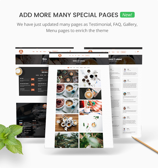 Foody - WordPress reserva de restaurante e loja de alimentos Website Theme - 14