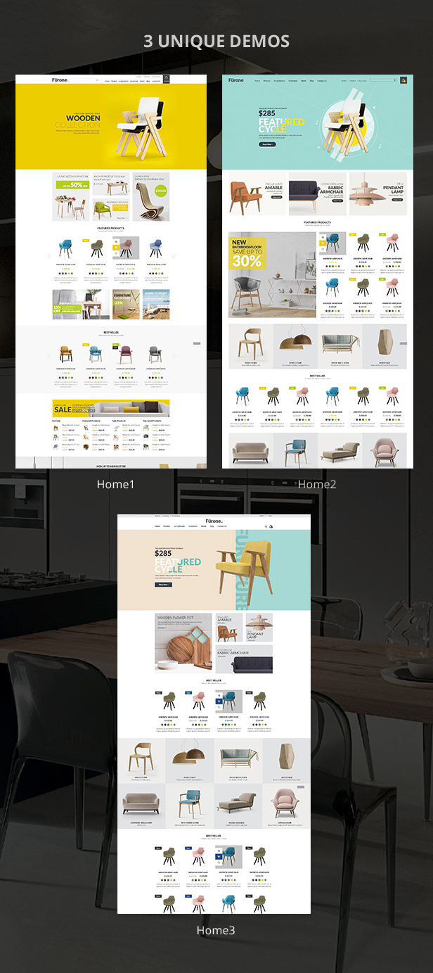 Furnione - WooCommerce WordPress Theme for Furniture Store - 8