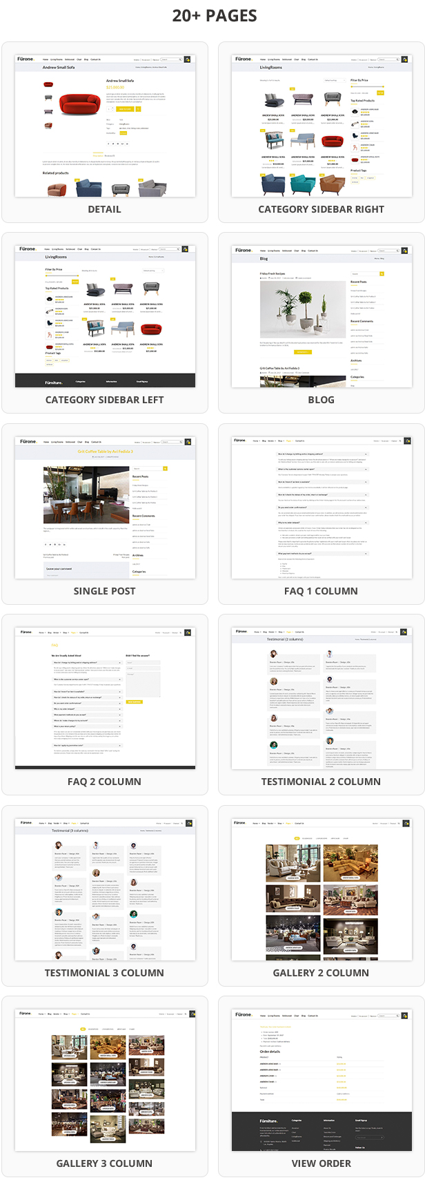 Furnione - WooCommerce WordPress Theme for Furniture Store - 9