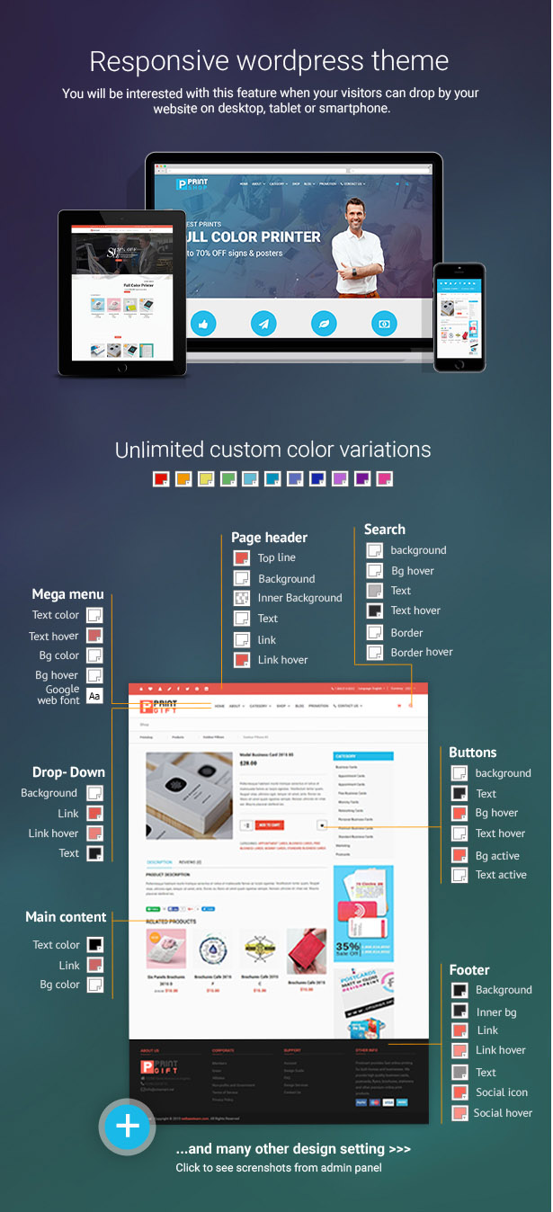 Printshop Wordpress Responsive Printing Theme By Netbaseteam