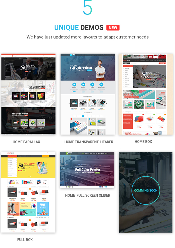 Printshop - WordPress Responsive Printing Theme - 7