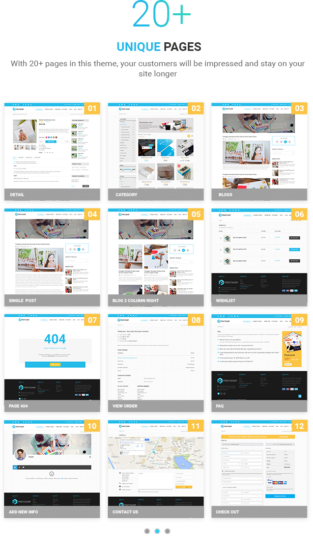 Printshop - WordPress Responsive Printing Theme - 8