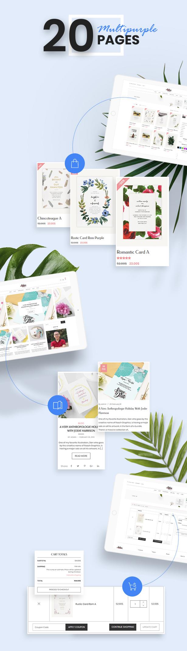 Aidoo - Wedding Cart WooCommerce Theme - 9
