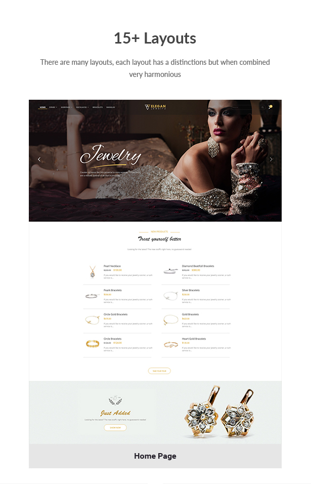 Elegance - Jewelry Responsive WordPress Woocommerce Theme - 3