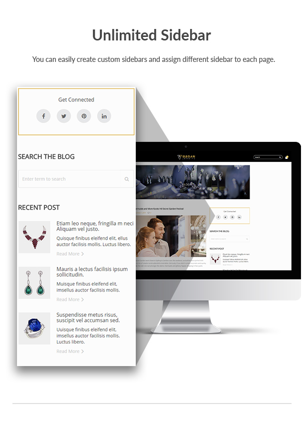 Elegance - Jewelry Responsive WordPress Woocommerce Theme - 11