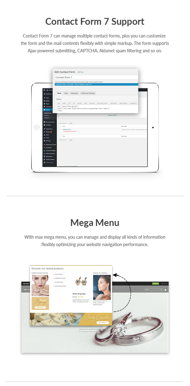 Elegance - Jewelry Responsive WordPress Woocommerce Theme - 18