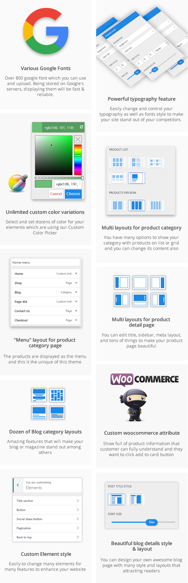 MultiStores - WordPress WooCommerce Theme Support Multiple Stores - 18