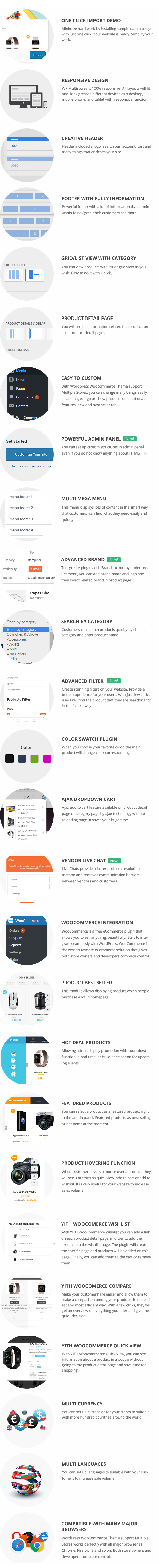 MultiStores - WordPress WooCommerce Theme Support Multiple Stores - 19