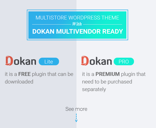 Marketplace WP Theme support Dokan Multi Vendors - 12