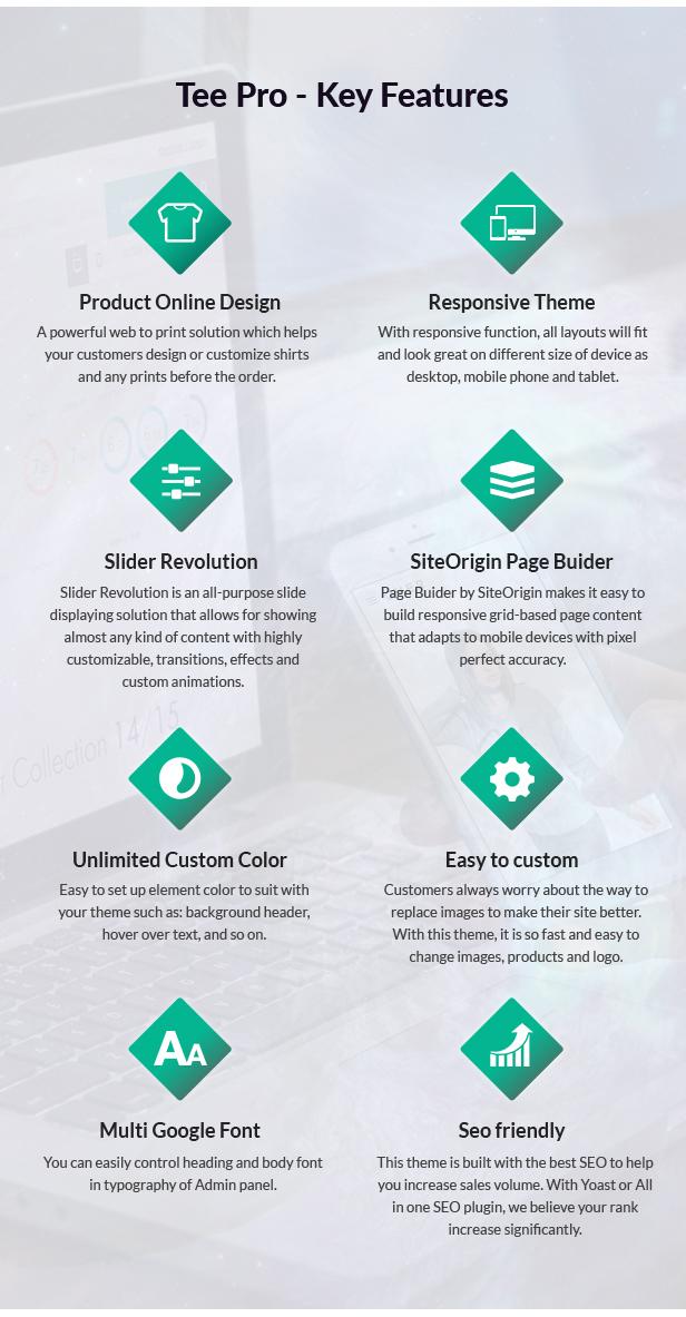 Wordpress T-shirt Printing Theme