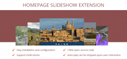Magento Homepage Slideshow