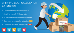 Magento Shipping Cost Calculator Extension