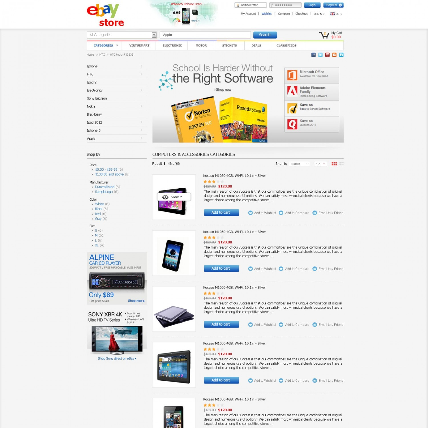Nice ebay store template crest professional resume for Ebay store template tutorial