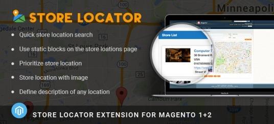 Magento Store Locator Extension