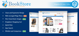 Magento Bookstore Theme