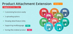 Magento Product Attachment Extension