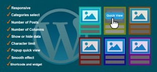SmartCms Responsive Grid Quick View Posts for WordPress