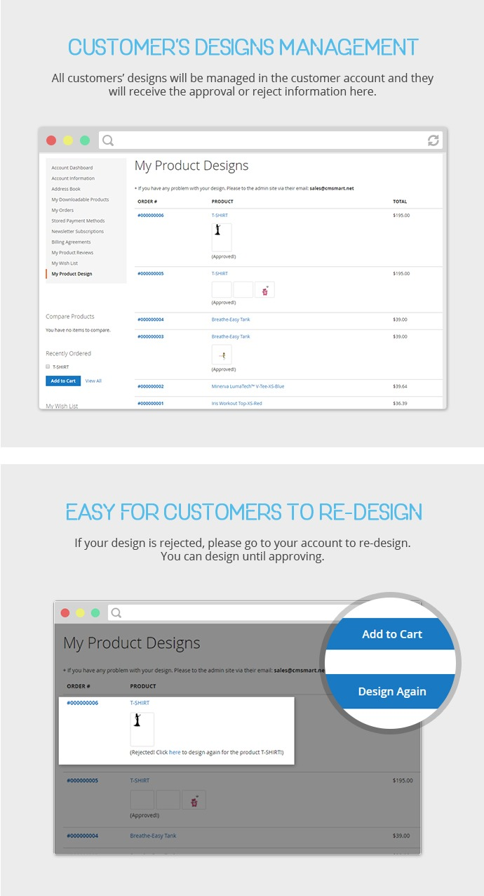 Magento Product Designer Extension Free