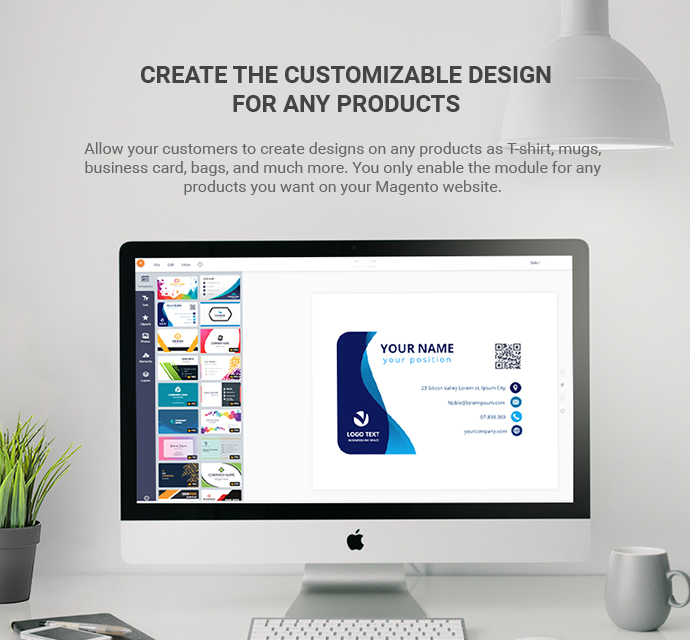 Premium Online Product Design Extension for Magento 2