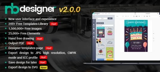 Online Product Designer Plugin for WooCommerce WordPress