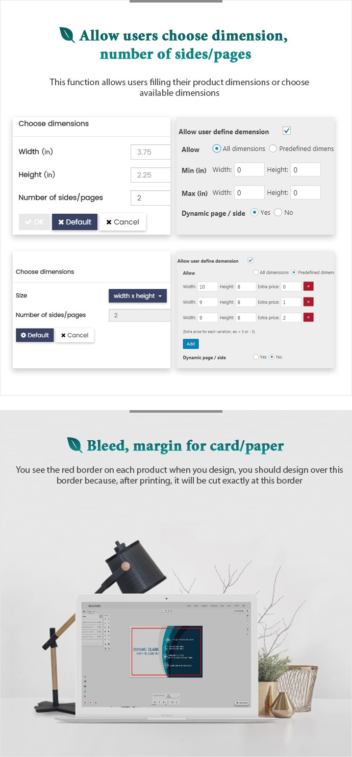 Online Product Designer Plugin for WooCommerce WordPress