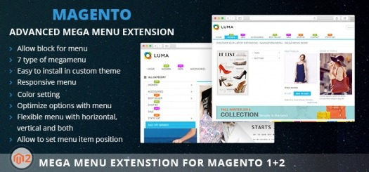 Mega Menu Extension for Magento 2