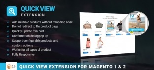 M2 VIEW | Magento 2 Quick view extension
