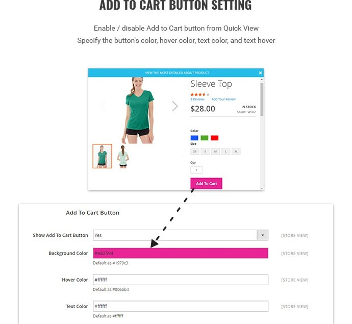 Quick view extension for Magento 2