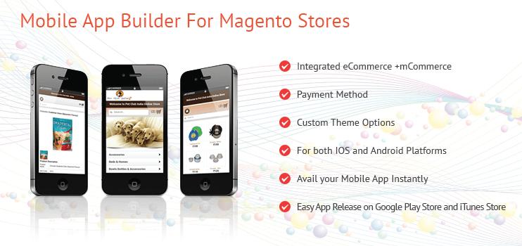 Mobile App Builder for Magento Stores