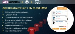 Ajax Drop Down Cart for WooCommerce Wordpress