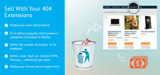 Sell With Your 404 Magento Extension