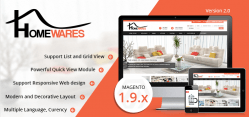 Magento Homewares Theme