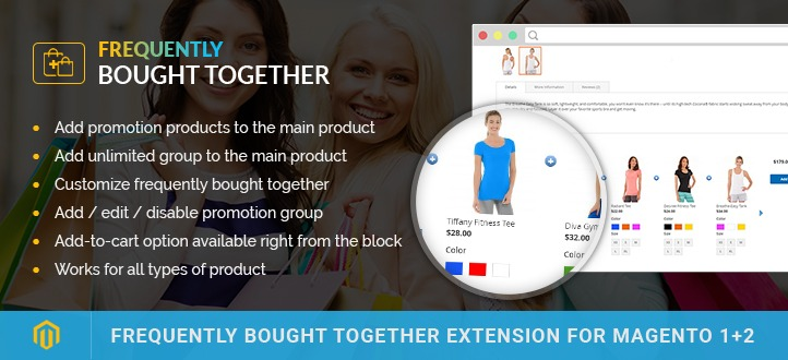 Frequently Bought Together Extension For Magento 2