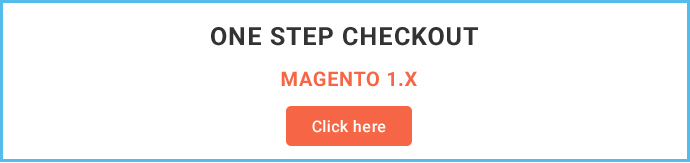 One Step Checkout Module for Magento 2