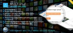 Virtuemart Multiple Images Upload Plugin