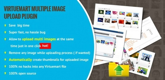 Virtuemart Multiple Image Upload Plugin