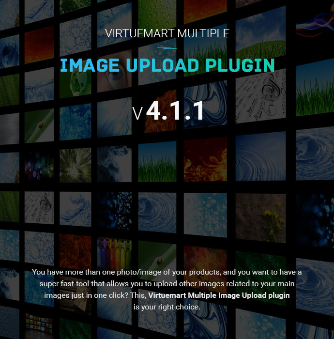 Скачать Virtuemart Multi Product Image Upload Plugin