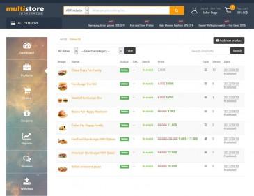 screenshots MULTISTORE | WordPress Multi Vendor Marketplace Solution [Premium]