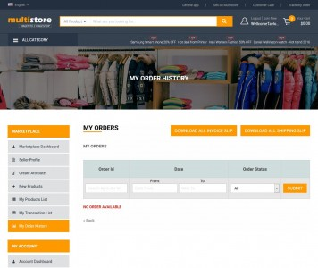 screenshots Multistore Marketplace Magento 2 Theme Integrated Multi-Vendor [Premium]