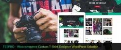 Tshirt Printing Store Ecommerce Website with Online Designer [Premium]