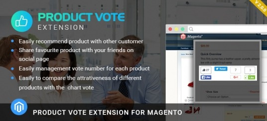 Magento Product Vote Extension