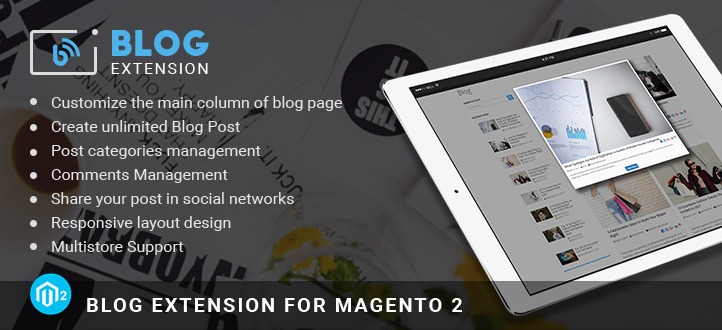 Blog Extention in Home Page