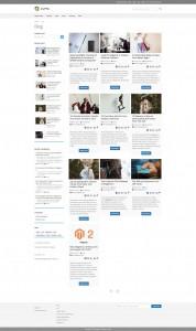 screenshots M2 Blog    Magento 2 Blog Extension Development