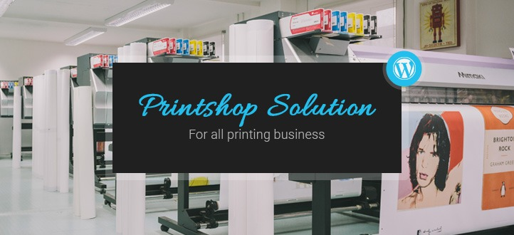 WordPress Printshop online design: perfect web to print solution for Enterprise